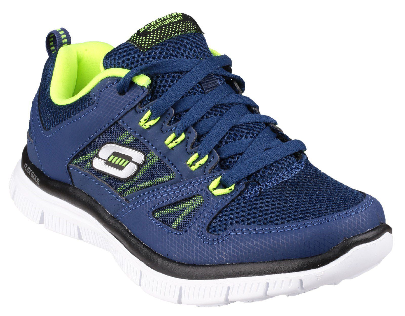 Skechers Flex Advantage Kids Trainers Navy
