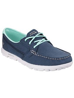 On the go clipper boat style shoes