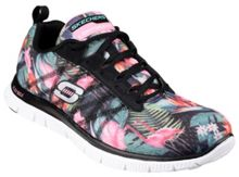 Skechers Flex appeal floral bloom trainers