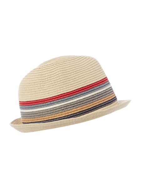 Barbour Tain stripe trilby