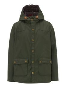 Barbour Boys Reelin Hooded Jacket