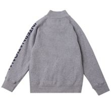 Boys International Logo Zip Through Sweater
