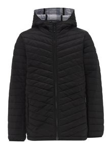 Barbour Boys international quilted jacket
