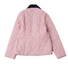 Girls quilted jacket with floral lining