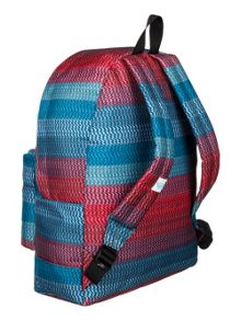 Girls striped backpack