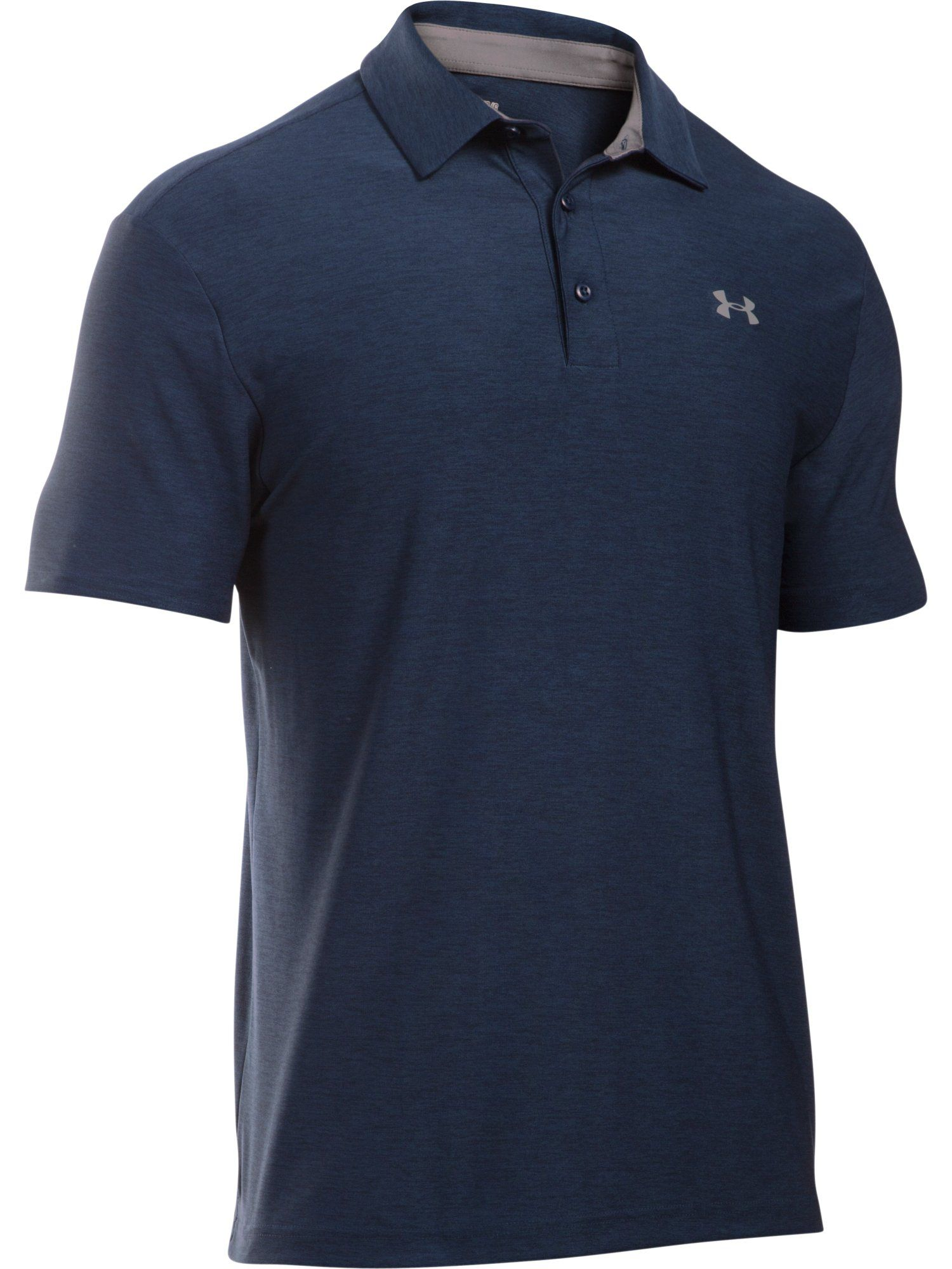 Men's Under Armour Playoff Polo Shirt, Dark Blue