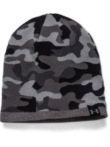 Reversible Acrylic Mix Beanie Hat