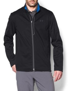 Under Armour Elemental Plain Half Zip Neck Zip Fastening Cardi