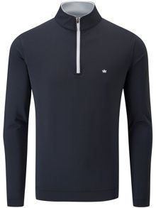 Peter Millar Terry 1/4 zip sweater