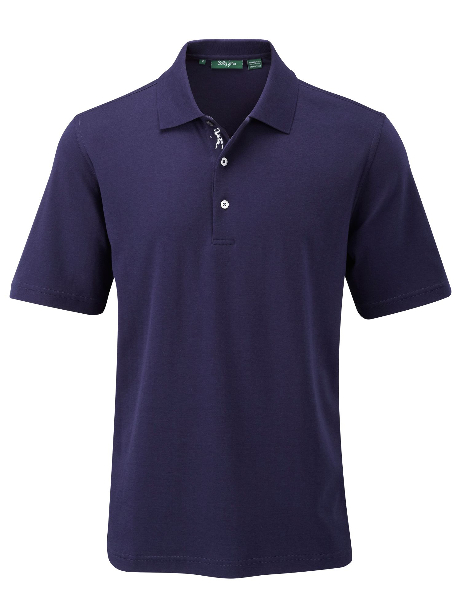 3 button embroidery polo shirt house of fraser for 3 button polo shirts