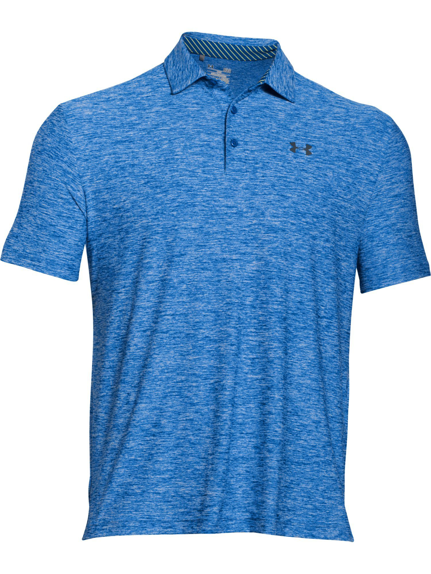 Men's Under Armour Playoff Polo Shirt, Mid Blue