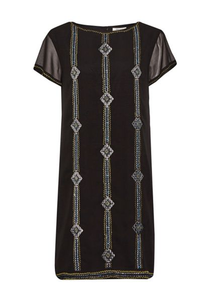 Great Plains Karla Stitch Embroidered Dress