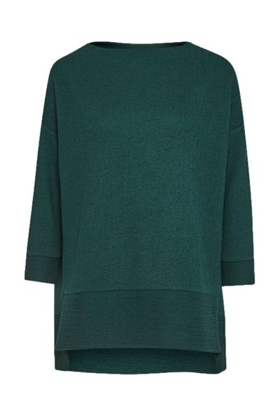 Great Plains Wiggle Rib Oversized Top