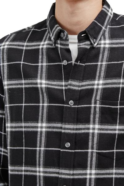 French Connection Black Check Shirt