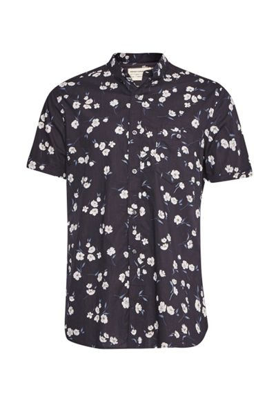 French Connection Fats Floral Short Sleeved Shirt