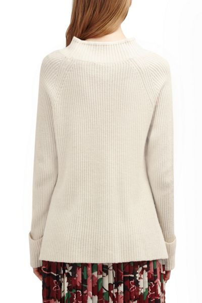 French Connection Freedom Fringe Knits High Neck Jumper