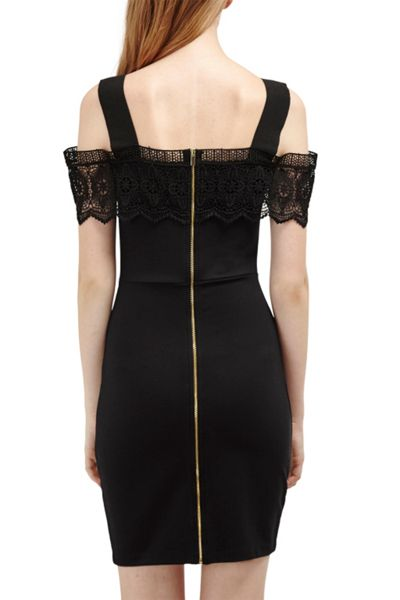 French Connection Petra Lace Beau Strappy Dress
