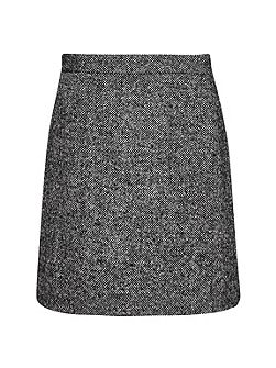 Rupert Tweed Mini Skirt
