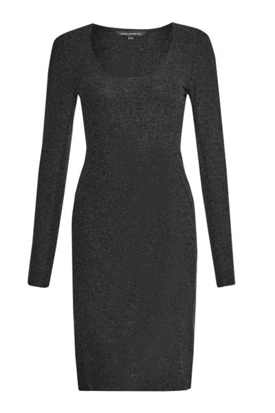 French Connection Mayan Plain Panelled Dress
