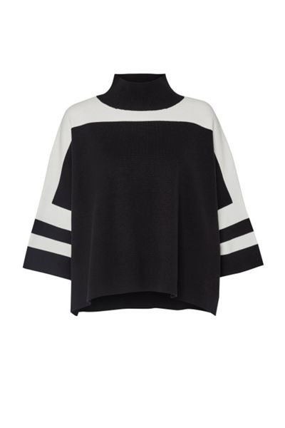 French Connection Mozart Colour Block Jumper