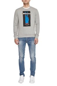 French Connection V Fcuk Graphic Sweatshirt