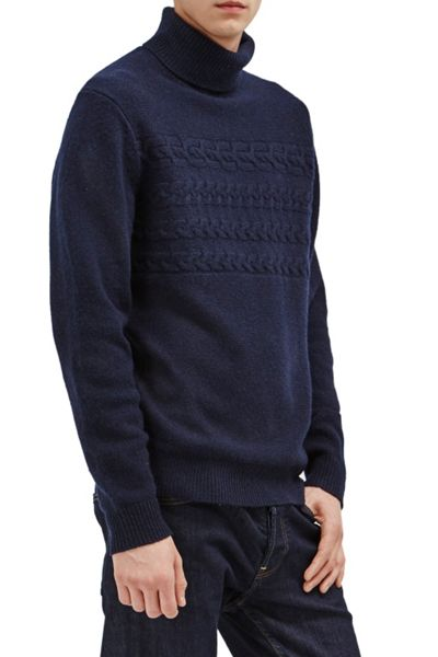 French Connection Cable Stripe Knits Jumper