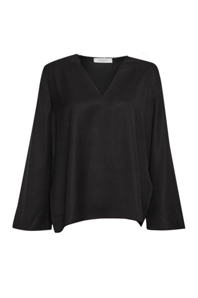 Great Plains Alana Crepe Raw Neck Blouse