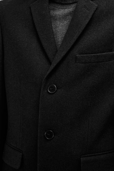 French Connection Melton Wool Tailored Coat