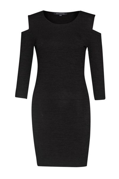 French Connection Sweeter Sweater Cold Shoulder Dress