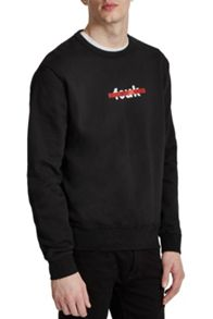 French Connection FCUK Bar Slogan Sweatshirt