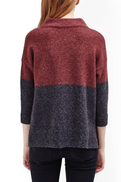 French Connection Rsvp Colour Block Knit Jumper
