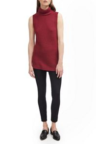 French Connection Abel Sleeveless High Neck Jumper