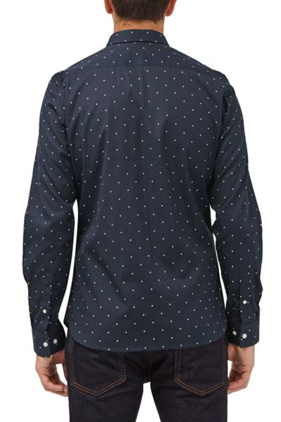 French Connection Winter Poplin Printed Shirt