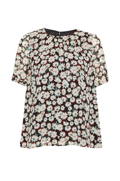 French Connection Bloomsbury Daisy Sheer Top