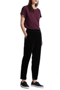 Great Plains Velvet Moon Jogger Trousers