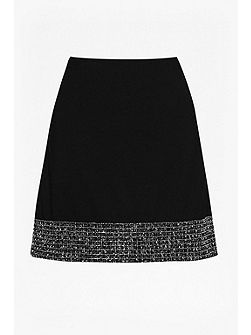 Crystal Shot Mini Skirt