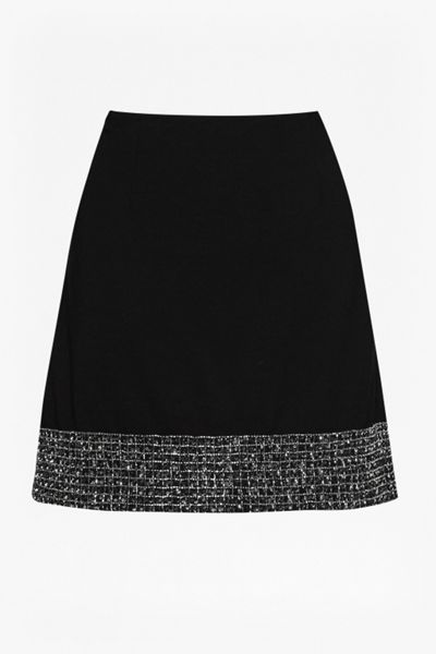 French Connection Crystal Shot Mini Skirt