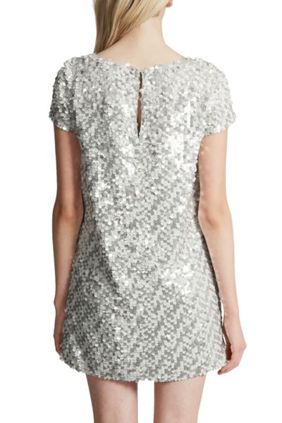 French Connection Snow Sequins Tunic Dress