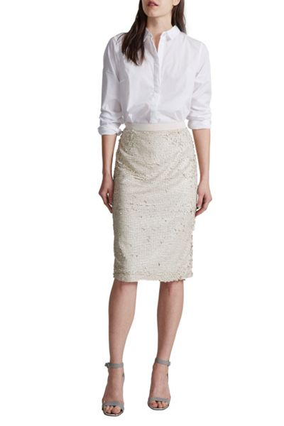 Great Plains Siren Sequin Pencil Skirt