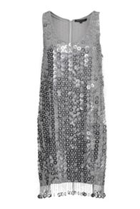 French Connection Cindy Sparkle Sequin Dress
