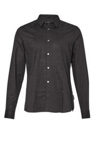 French Connection Polecats Pleated Shirt