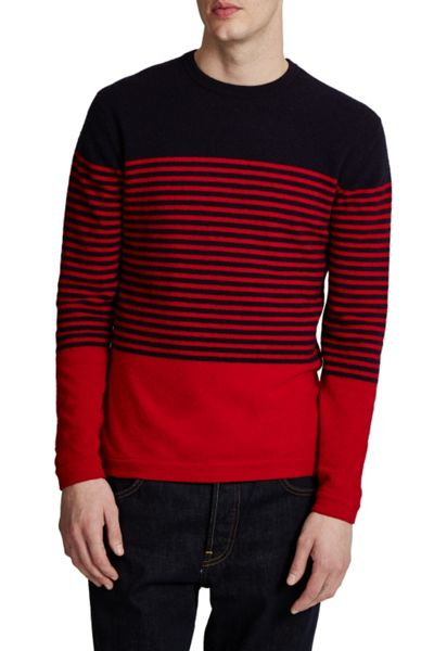 French Connection Turner Stripe Knit Sweater