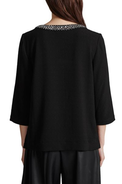 Great Plains Lapland Crepe Embellished Top
