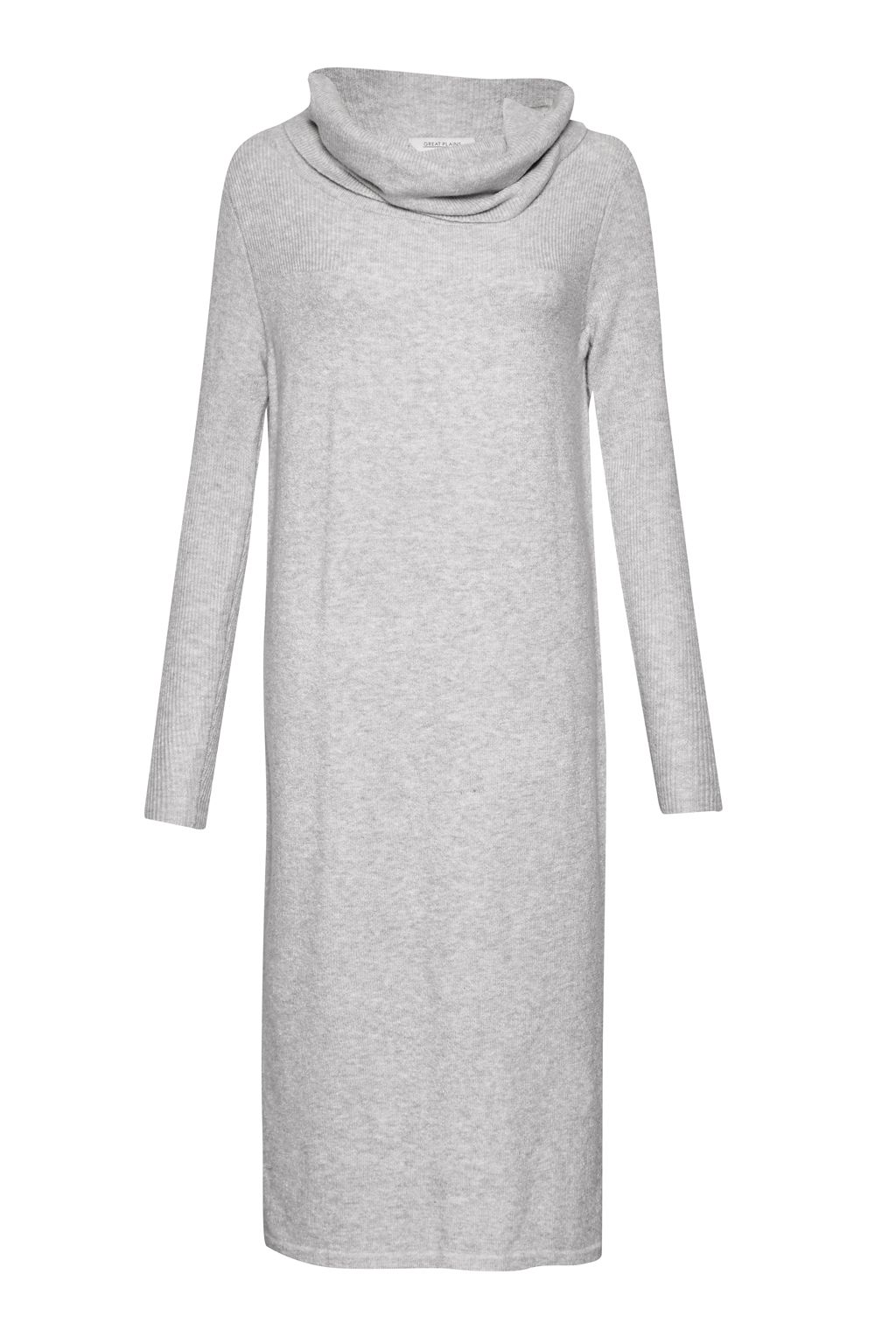 Great Plains Otto Knit Midi Dress, Grey