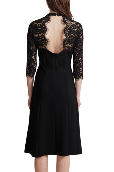 Great Plains Georgia Lace Open Back Dress