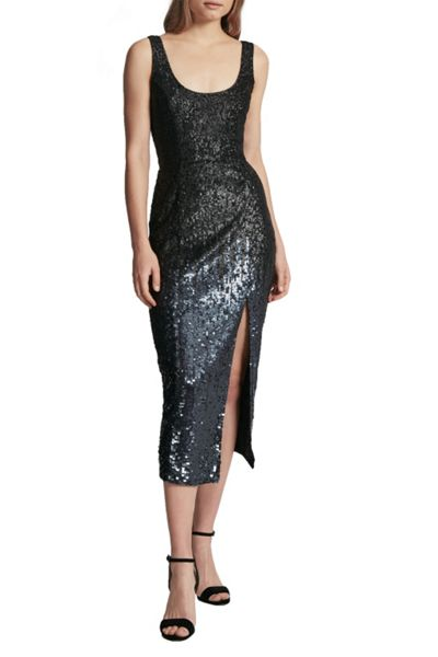 French Connection Starlight Sparkle Strappy Dress
