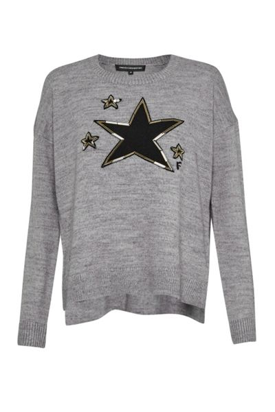 French Connection Lucky Star Knits Crew Neck Jumper