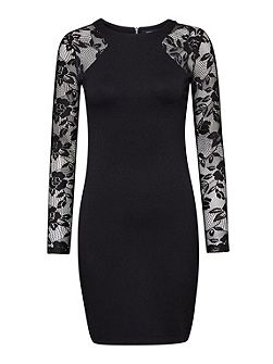 The London Floral Lace Dress