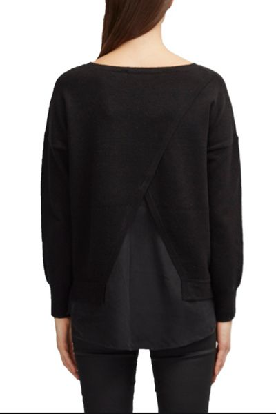 French Connection Vhari Hybrid Knit Jumper