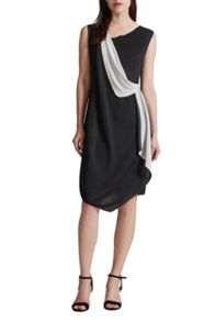 Great Plains Reversible Draped Front Dress